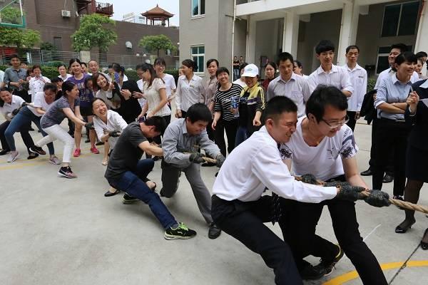 万博体育手机版登陆锦江国际酒店举办员工趣味游戏竞赛活动